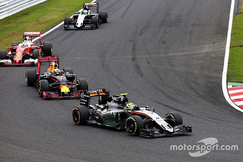 """【F1】ペレス「僕たちは来年、""""トップ3""""と戦えるかもしれない」"""