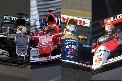 GALERÍA: Los coches con más victorias en la F1