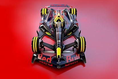 Galeri: Konsep desain F1 2030 – Red Bull