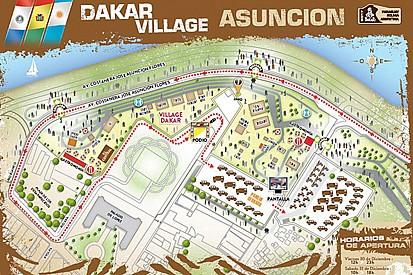 Todo listo en Paraguay para el arranque del Dakar