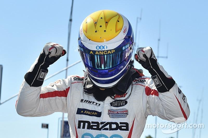 Urrutia seguirá en Indy Lights para 2017