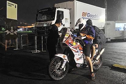 Dakar: stop obbligatorio per moto e quad in ritardo al CP