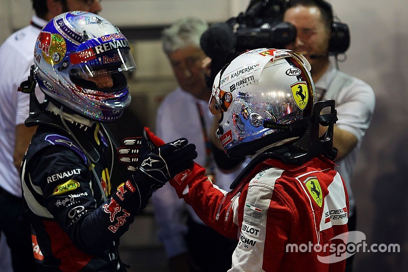 Ricciardo - Vettel est parfois son pire ennemi