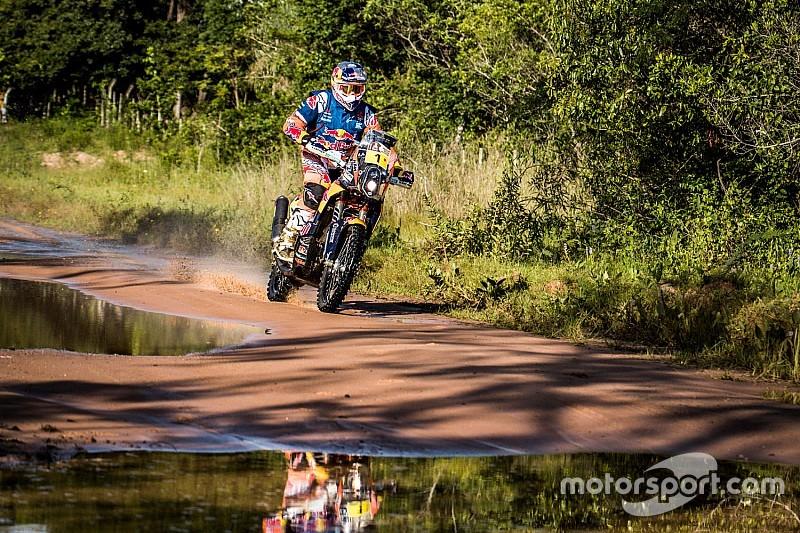 Motos: Toby Price se pone lider del Dakar