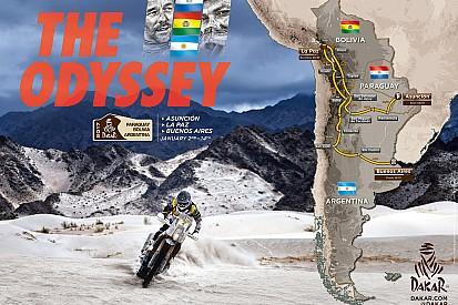 Las 12 etapas del rally Dakar 2017