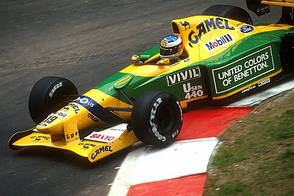 Los 20 coches Fórmula 1 de Michael Schumacher
