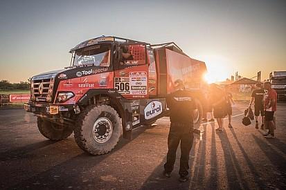 Camiones: Van den Brink gana la segunda etapa