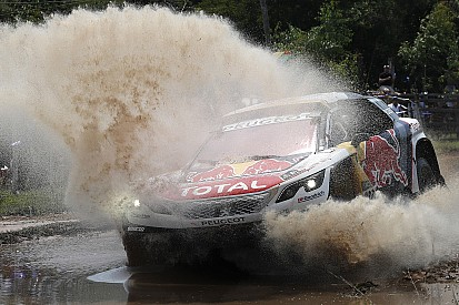 Étape 3, autos - Bérézina chez Toyota, trois Peugeot en tête