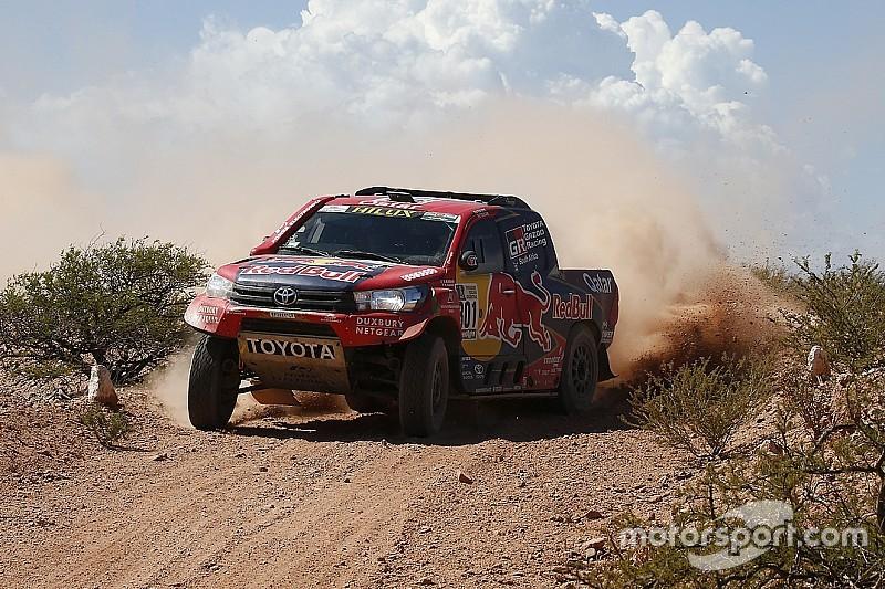 """""""Game Over"""" nach Unfall: Nasser Al-Attiyah ohne Dakar-Siegchance"""
