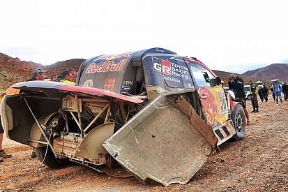 Dakar: ecco come Al-Attiyah ha concluso la tappa dopo l'incidente!