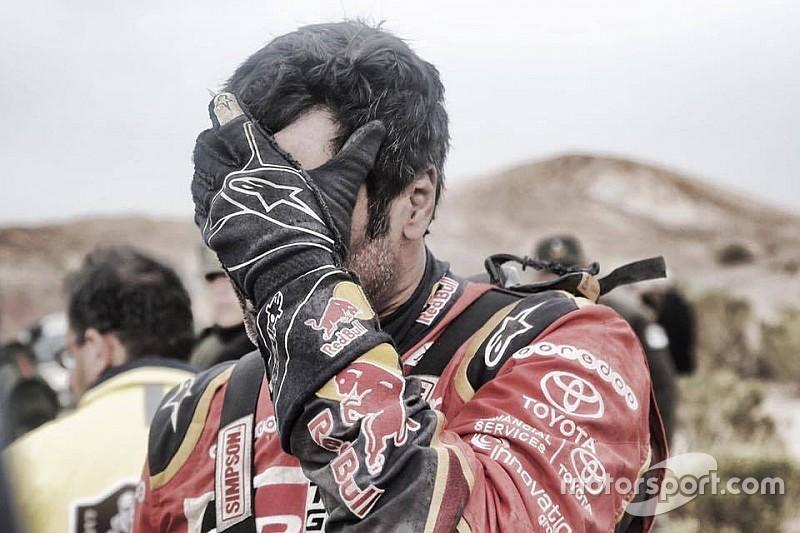 Nasser Al-Attiyah jette l'éponge