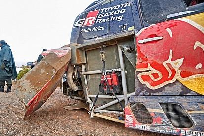 Dakar: una buca non indicata nel road book ha tradito Al-Attiyah