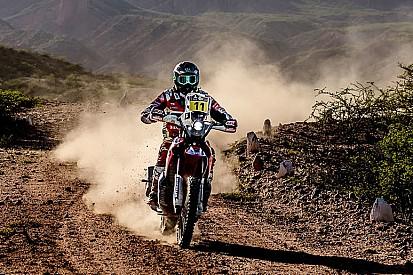 Dakar, Moto, Tappa 4: Barreda scappa, Price cade e si rompe il femore
