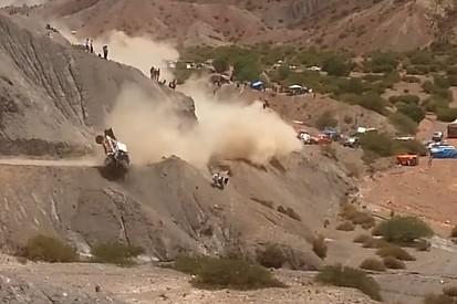 Video: el terrible accidente de Carlos Sainz