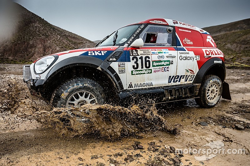 Zesde etappe Dakar 2017 afgelast vanwege slecht weer