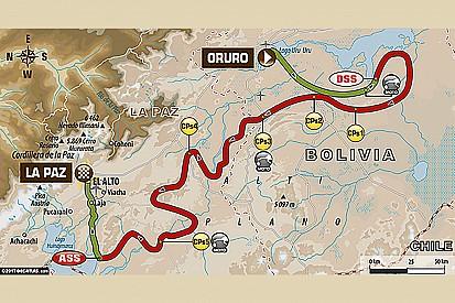 Dakar: la sesta tappa ha la speciale più lunga con 527 km