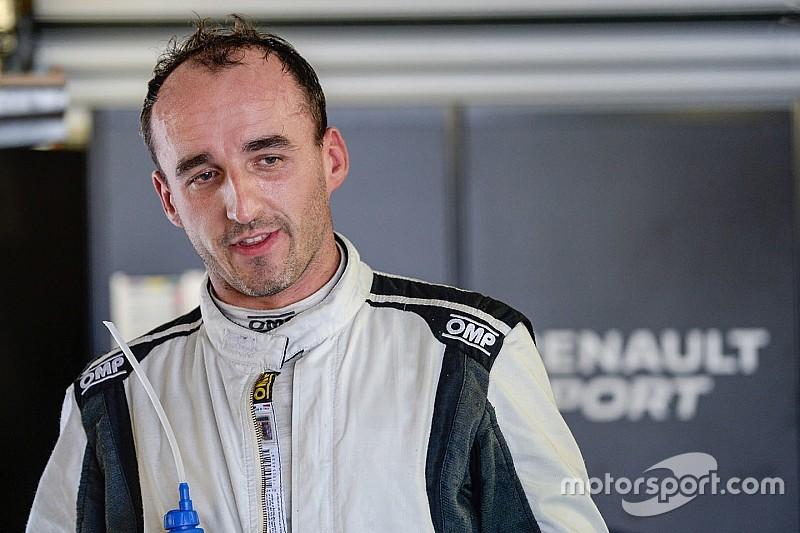 Kubica au départ des 24 Heures de Dubaï sur Porsche GT3-R