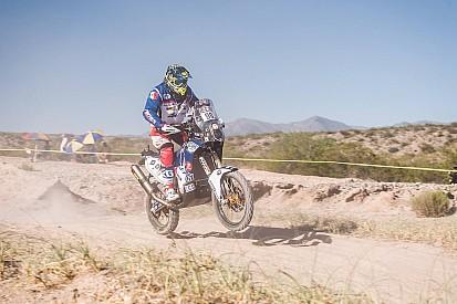 El mexicano Carlos Gracida llega a la mitad del Dakar 2017