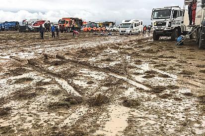 La séptima etapa del Dakar se recorta a la mitad
