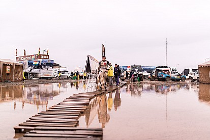 تقليص مسافة مرحلة داكار الماراثونيّة يوم الإثنين بسبب سوء الأحوال الجويّة