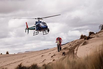 Los pilotos de motos sufrieron durante 16 horas camino de Salta