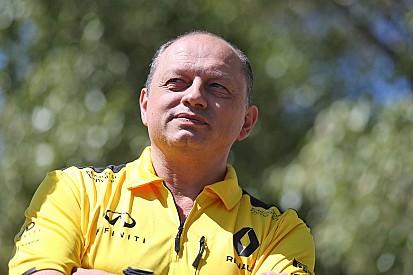 Vasseur deja su cargo como jefe de equipo de Renault F1