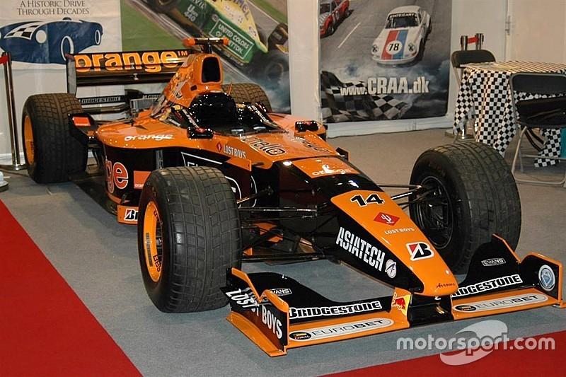 Arrows A21 van Jos Verstappen te koop