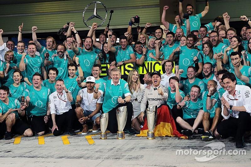 Laureus Awards - Mercedes AMG F1 et Rosberg parmi les finalistes