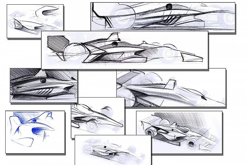 IndyCar muestra el concepto de aerokit para 2018