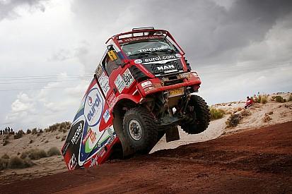 """Hans Stacey stapt woedend uit Dakar Rally: """"Opeens mogen we niet starten"""""""