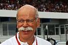 La reacción del presidente de Mercedes ante el retiro de Rosberg