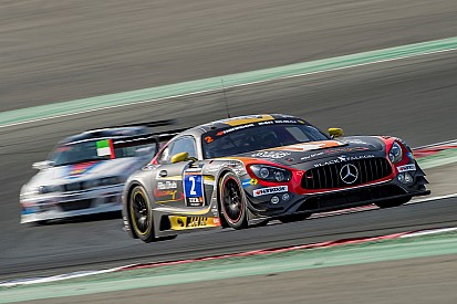 A Dubai la pole va alla Mercedes del Team Black Falcon
