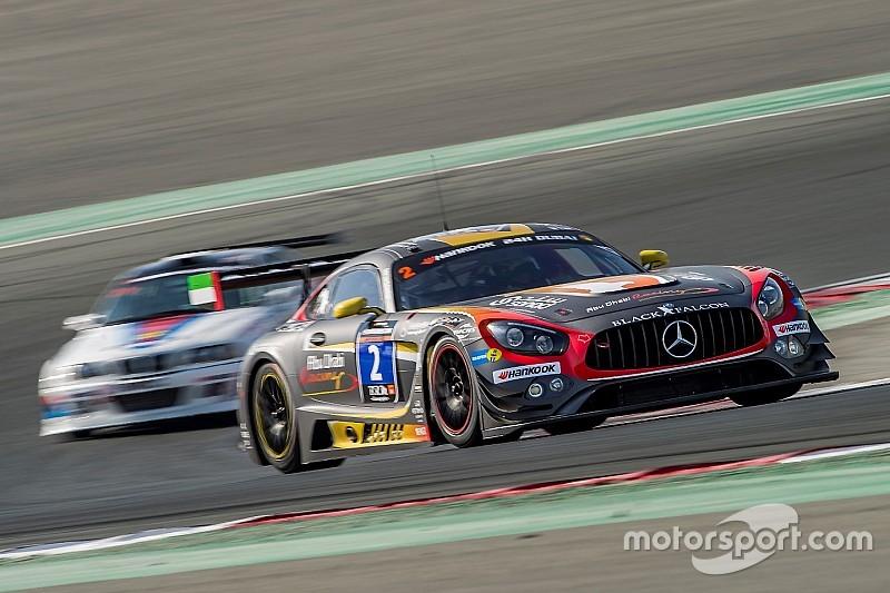 A Dubai la pole va alla Mercedes del Team Black Falcon
