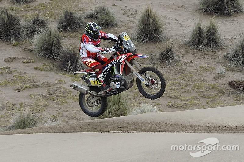Dakar, Moto, Tappa 11: svetta Goncalves, Sunderland amministra