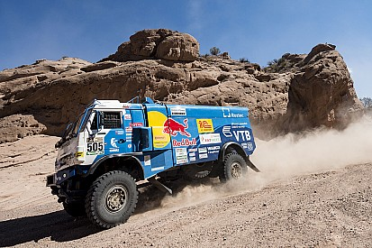 Dakar, Camion, Tappa 11: Nikolaev ipoteca il successo con il Kamaz