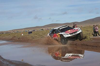 Loeb pierde el Dakar por un pinchazo camino de Río Cuarto