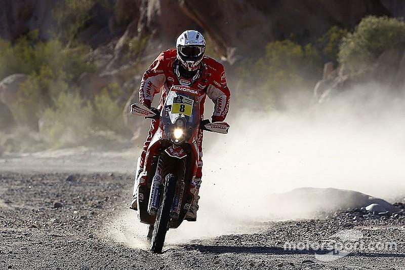 Dakar, Moto: van Beveren penalizzato un minuto, Farres torna terzo