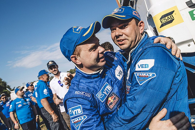 Camions - Nikolaev réussit la passe de trois !