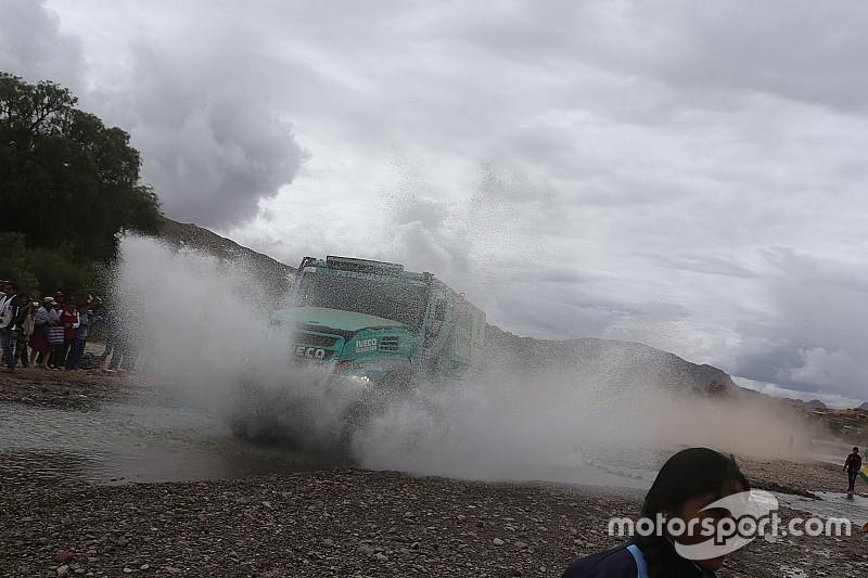 """De Rooy: """"Me consuelo con el podio, pero el Dakar debe cambiar"""""""