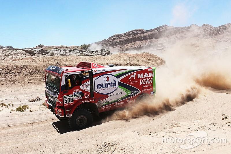 Nieuwe truck voor EVM na 'slechtste Dakar ooit'