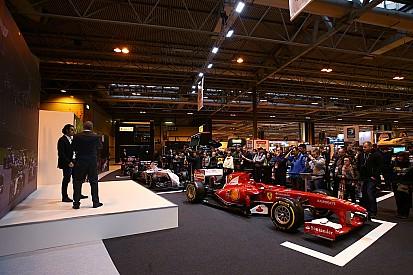 Photos - La Formule 1 au centre de l'Autosport International !