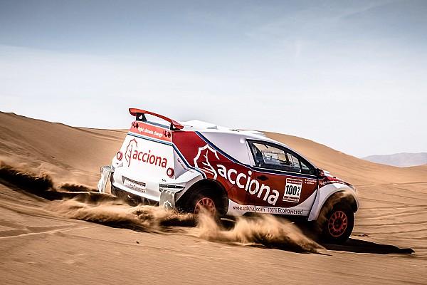 ACCIONA 100% EcoPowered: az első elektromos autó, ami célba ért a Dakaron