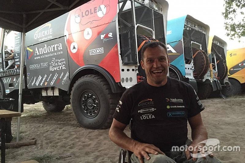 Llovera logró su mejor resultado en el Dakar
