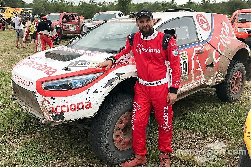 Jatón y Acciona hicieron historia eléctrica en el Dakar