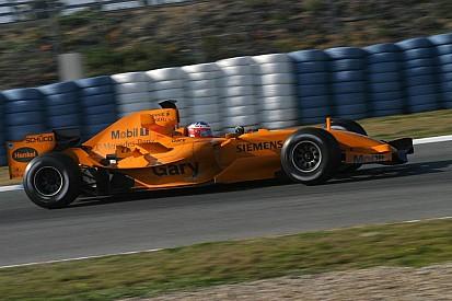 回眸2006年橙色迈凯伦F1赛车