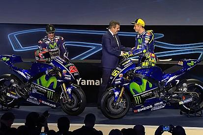Yamaha M1 2017: la nuova arma di Valentino e Vinales è più blu