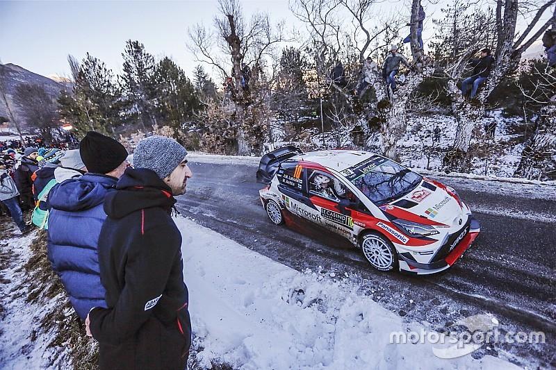 """Latvala n'a """"jamais vu autant de neige et de glace"""" au Monte-Carlo"""