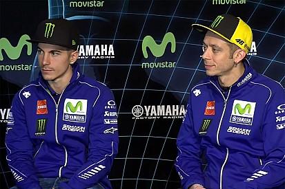 "Rossi - ""Je pense que la relation sera bonne avec Viñales"""
