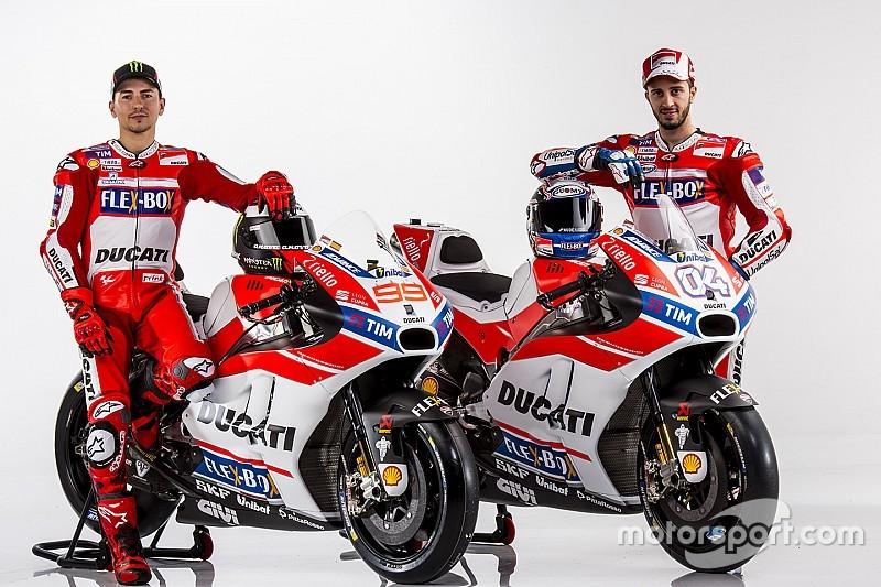 Ducati présente sa nouvelle livrée pour la Desmocedici GP17