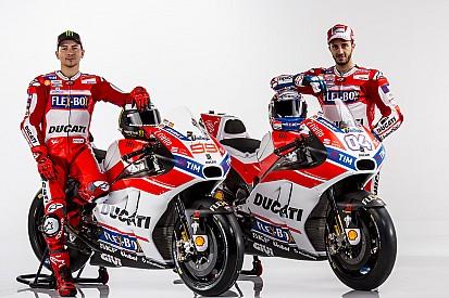 Ducati resmi luncurkan livery Desmosedici GP17